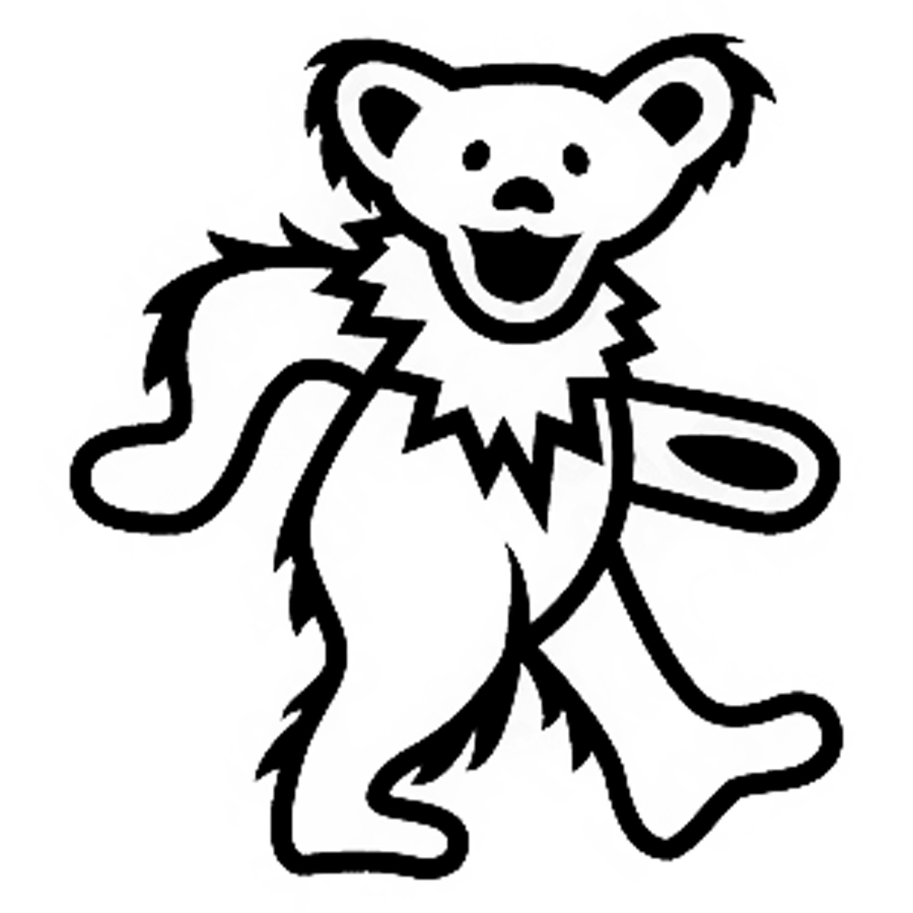 Dead bear clipart jpg freeuse stock Grateful Dead Dancing Bear - Henna Caravan jpg freeuse stock