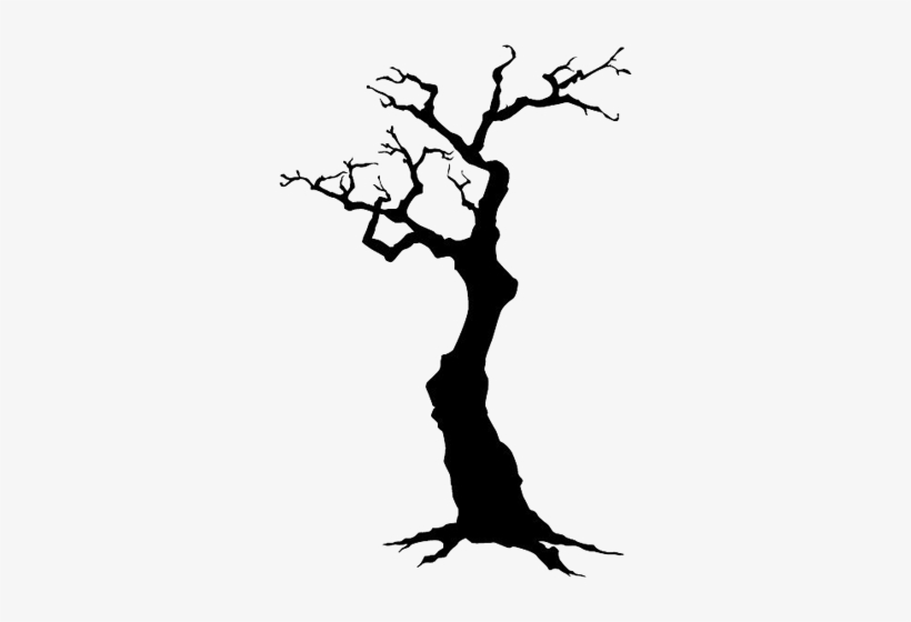 Dead christmas tree clipart clip library stock Tree-003 - Dead Tree Silhouette Clipart - Free Transparent PNG ... clip library stock