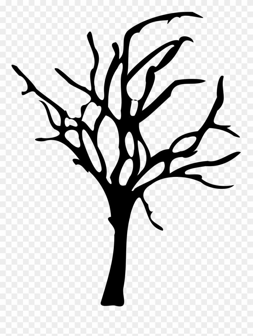 Dead christmas tree clipart royalty free stock Silhouette Tree Art - Dead Tree Vector Png Clipart (#29) - PinClipart royalty free stock