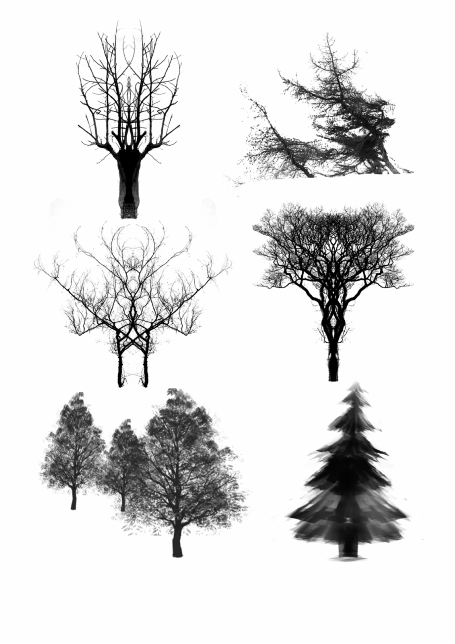 Dead christmas tree clipart image stock Trees Ink Dead Wood Png And Psd - Christmas Tree Free PNG Images ... image stock