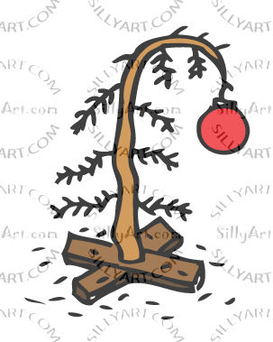 Dead christmas tree clipart vector library SillyArt.com - Silly Clip Art - Animated Gifs - More!!!- Holiday ... vector library