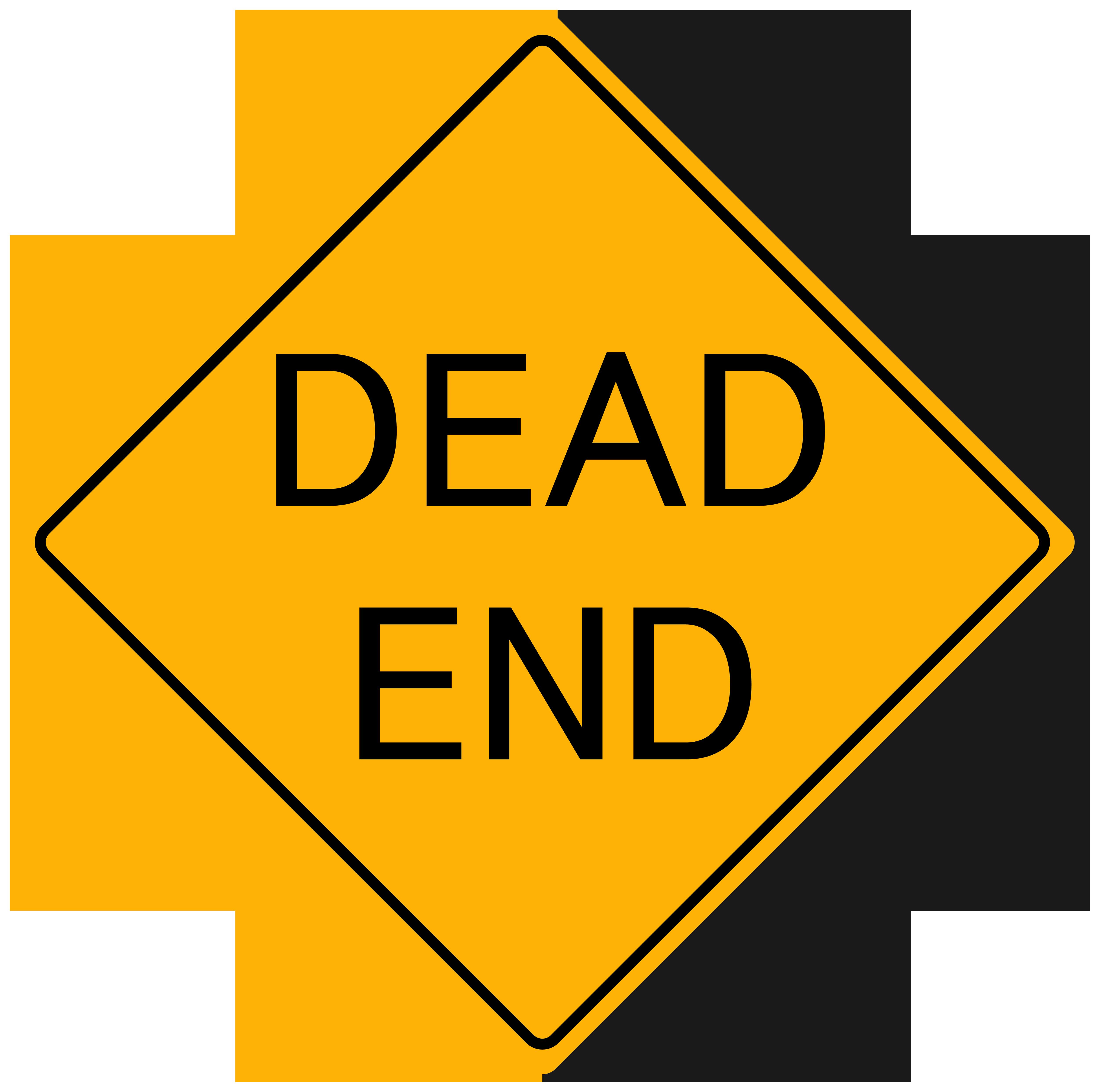 Dead dog clipart jpg royalty free Dead End Sign PNG Clipart - Best WEB Clipart jpg royalty free