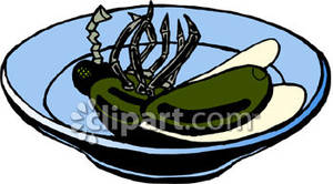 Dead fly clipart black and white library A Dead Fly In a Dish Royalty Free Clipart Picture black and white library