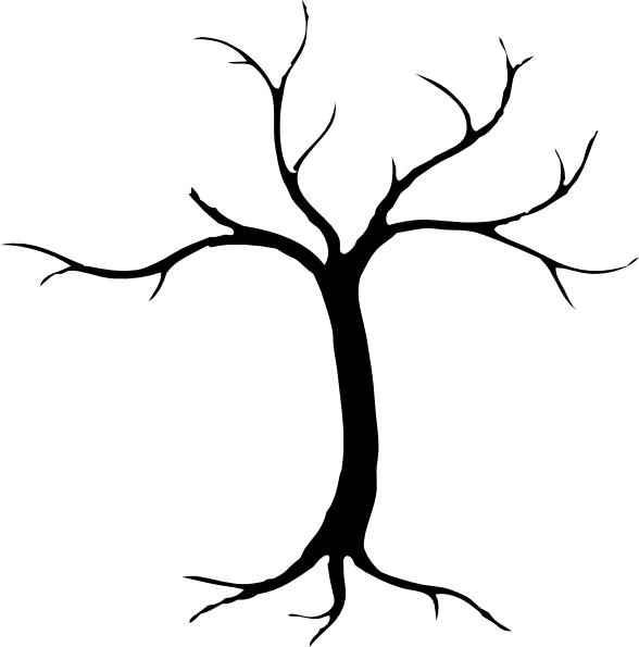 Half bare tree clipart jpg freeuse stock 28+ Collection of Dying Tree Clipart | High quality, free cliparts ... jpg freeuse stock
