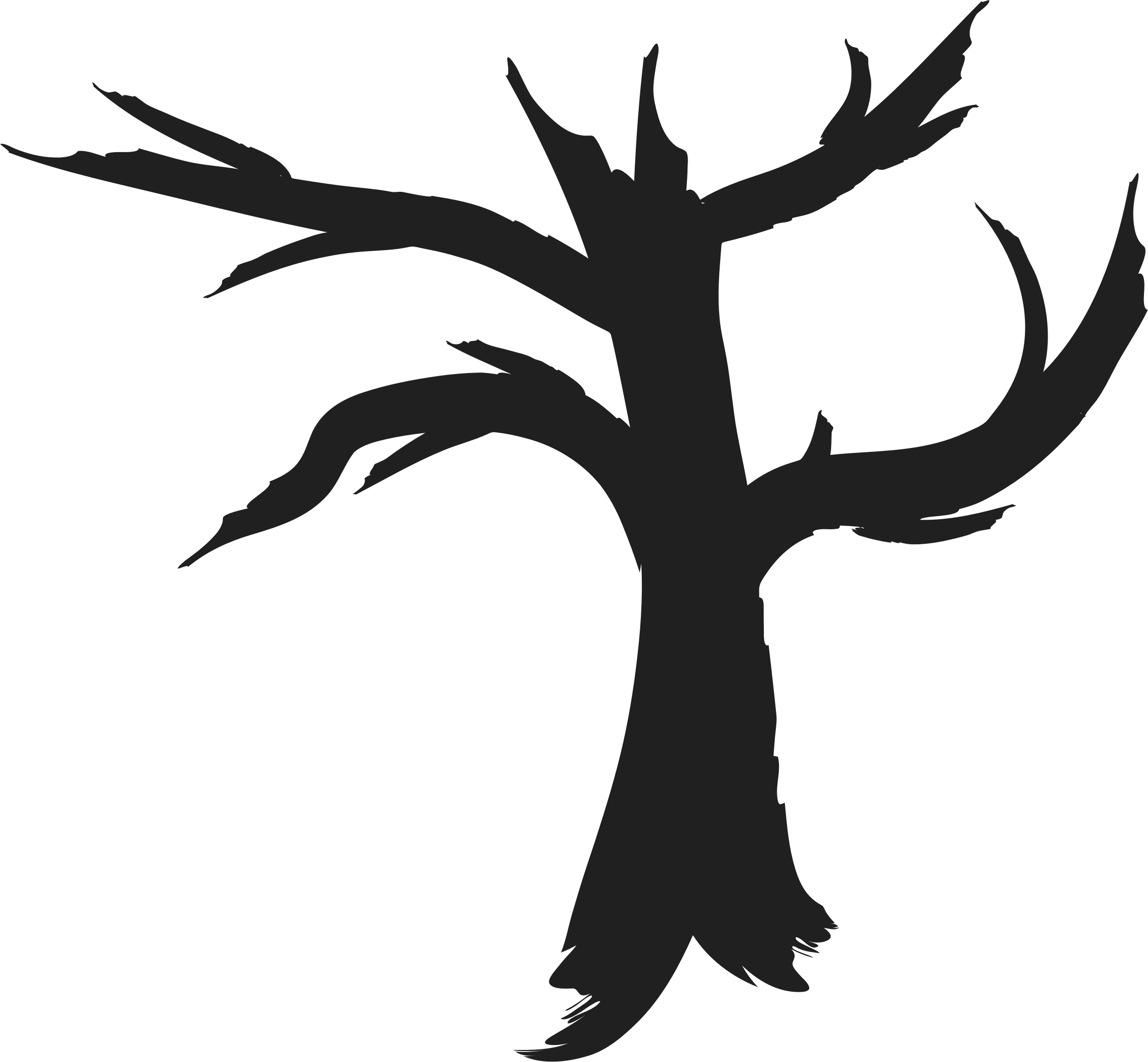 Dead tree clipart black and white banner library Tree Silhouette Black And White at GetDrawings.com   Free for ... banner library