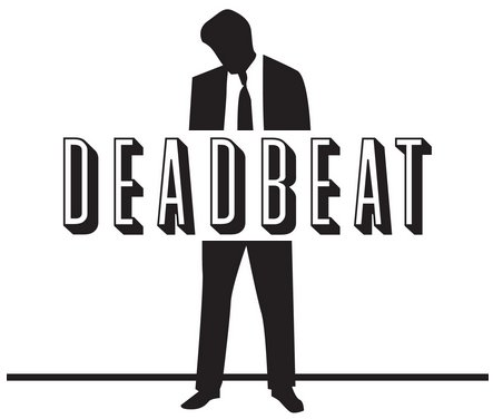 Deadbeat clipart svg black and white library Deadbeats \'Bailing Out\' Deadbeats : The Implode-o-Meter Blog svg black and white library