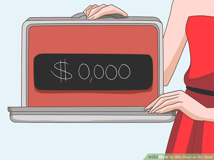 Deal or no deal clipart png black and white library How to Win Deal or No Deal: 5 Steps (with Pictures) - wikiHow png black and white library