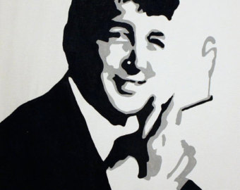 Dean martin clipart graphic Dean Martin Painting at PaintingValley.com | Explore collection of ... graphic