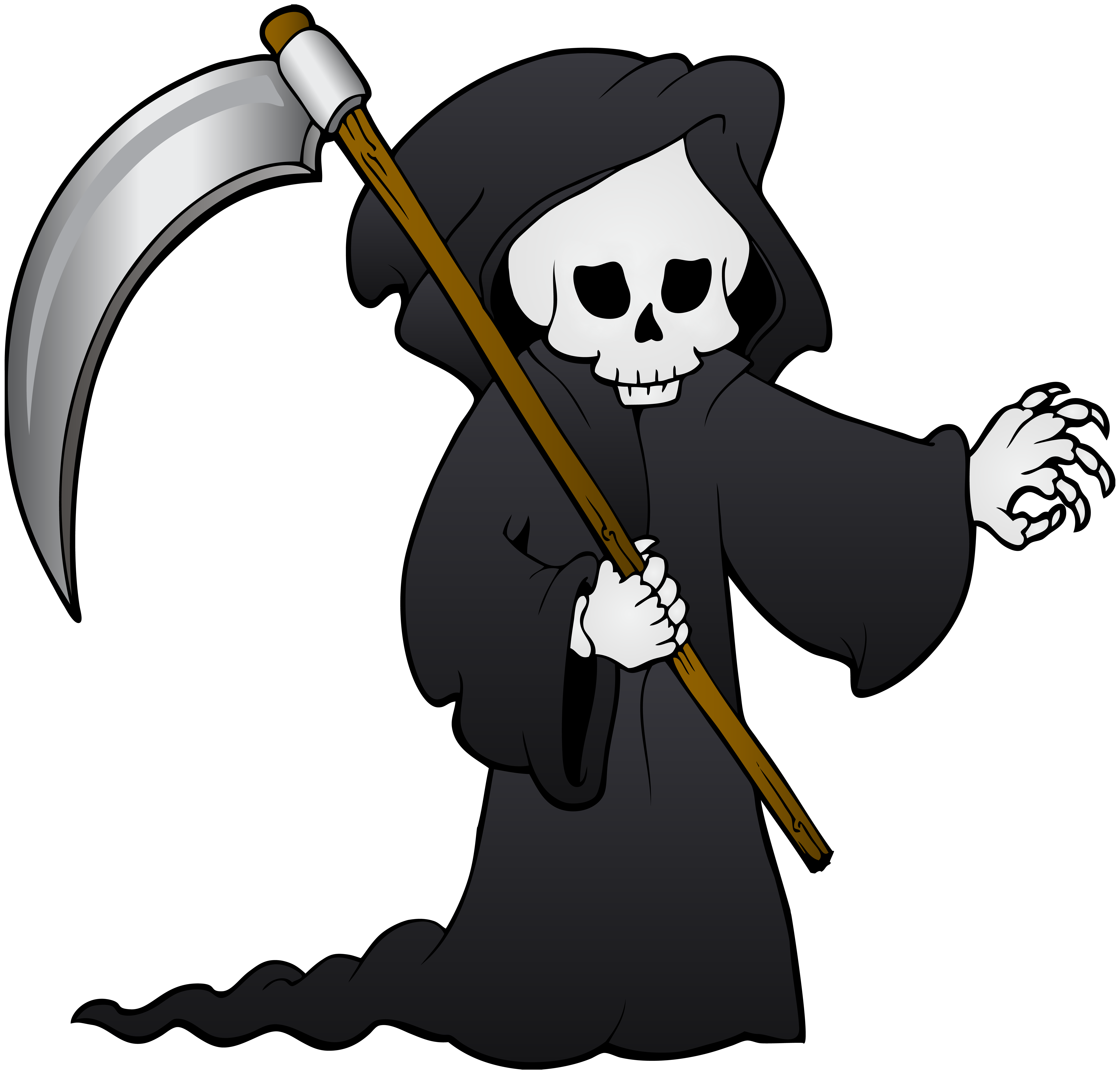 Death apple clipart library Death Icon - Grim Reaper PNG Clip Art Image 8000*7676 transprent Png ... library