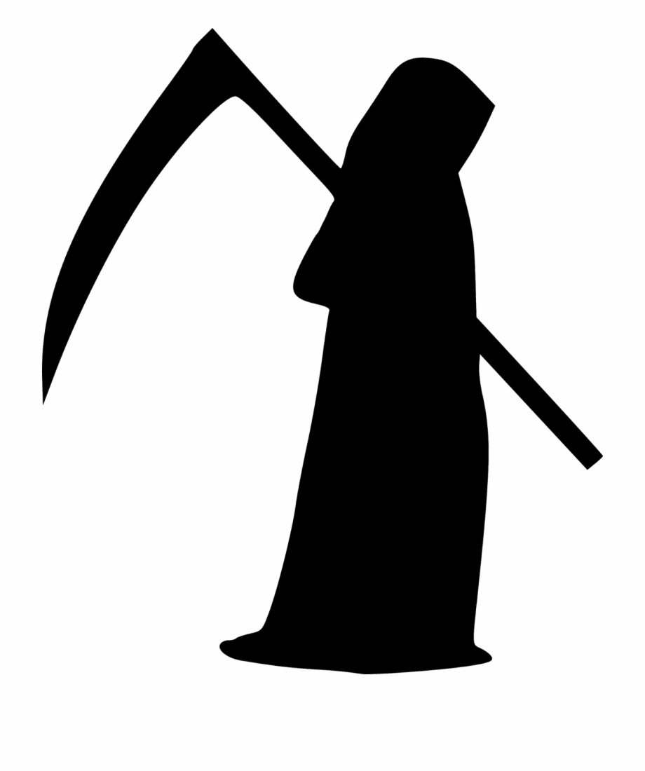 Death clipart free freeuse library Death Grim Reaper Reaper Scythe Silhouette - Angel Of Death Clipart ... freeuse library