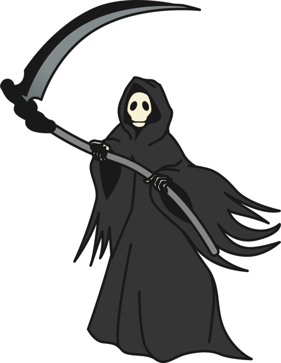 Clipart death clip art library Death,Fictional Character,Black Vector Clipart - Free to modify ... clip art library