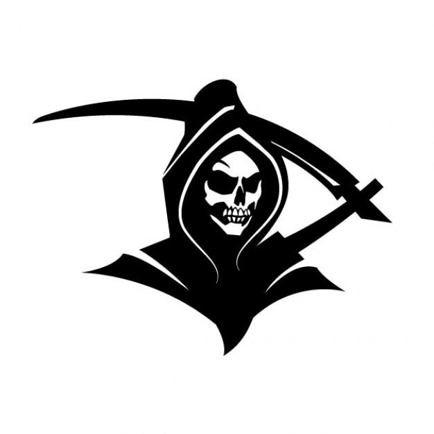 Death marked love clipart black and white vector download Black death grim reaper clip art Vector | Free Download vector download