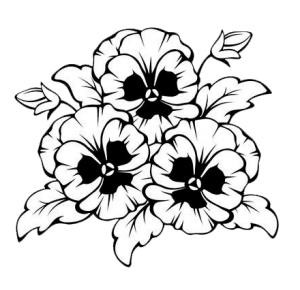 Death marked love clipart black and white image freeuse stock 999+ Flower Clipart Black And White [Free Download] - Cloud Clipart image freeuse stock