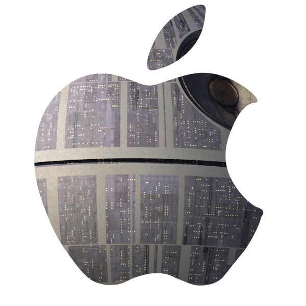 Death star apple clipart clip free library Tag: Brand - Duck for Cover clip free library