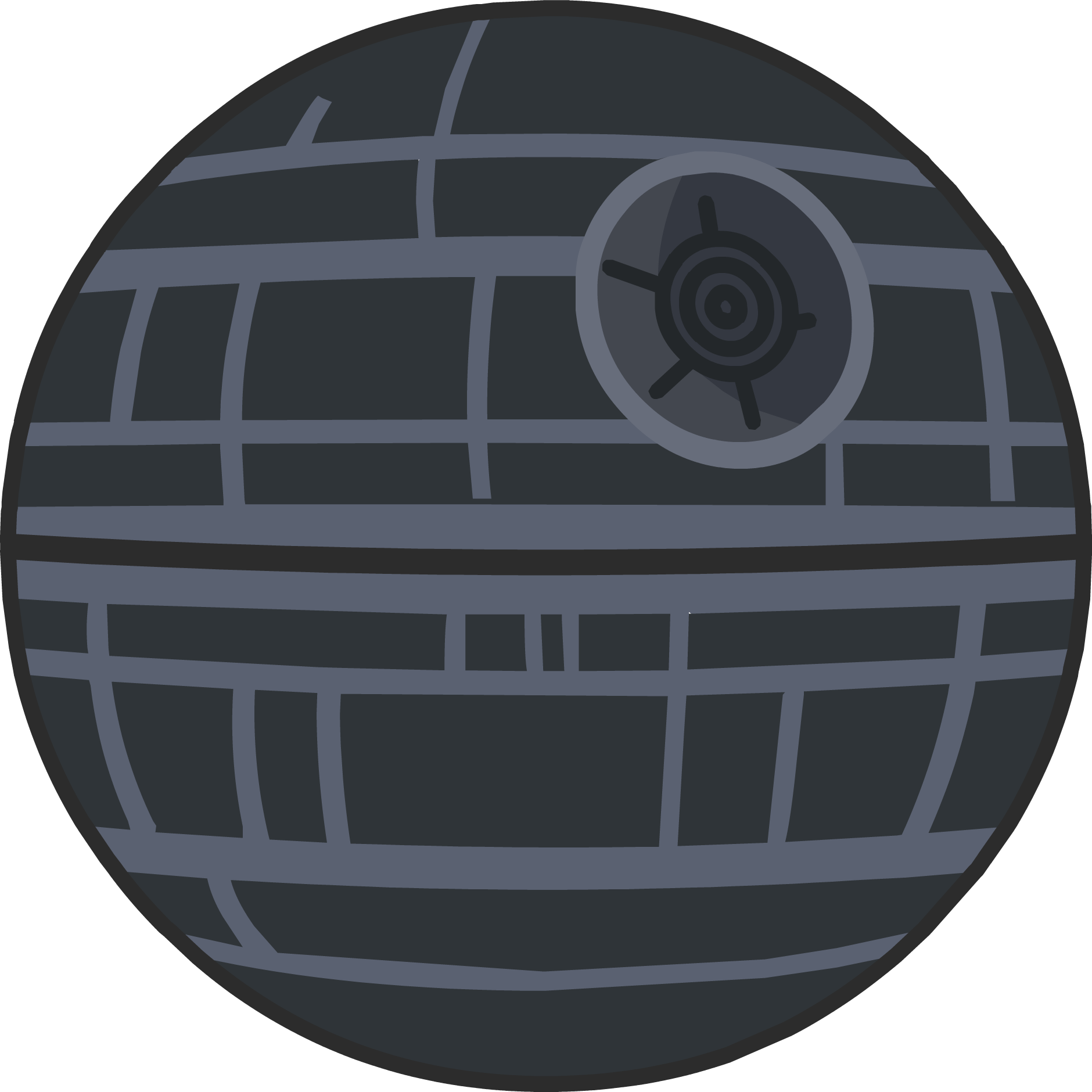 Death star clipart black and white clipart library library Death Star | Club Penguin Wiki | FANDOM powered by Wikia clipart library library