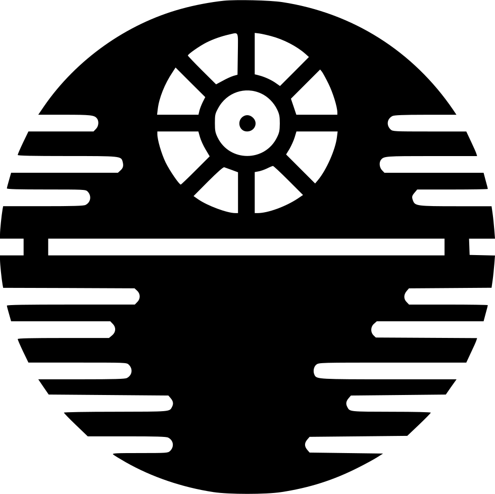 Death star clipart black and white clip art library library Death Star Svg Png Icon Free Download (#537528) - OnlineWebFonts.COM clip art library library