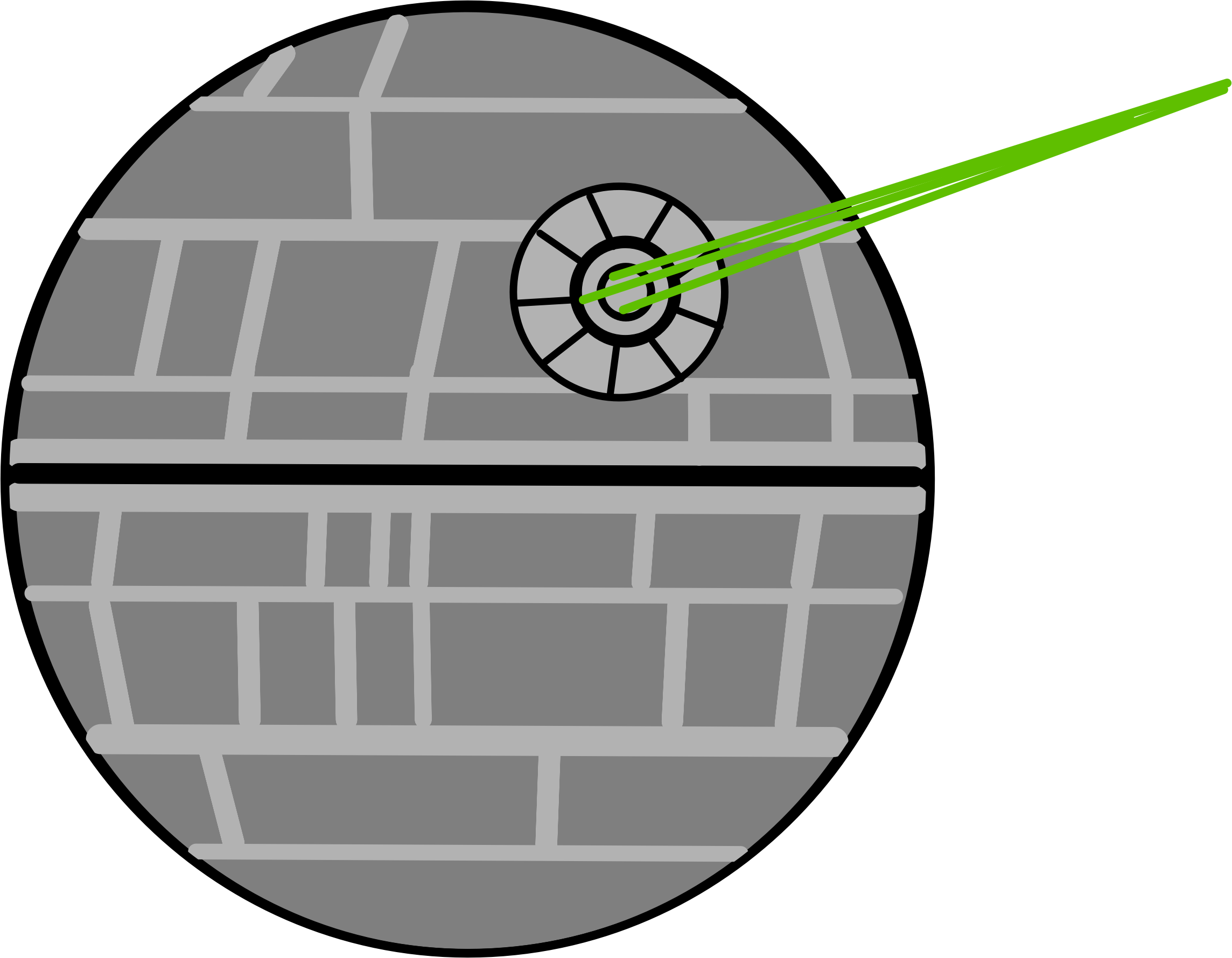 starwars death star clipart #11