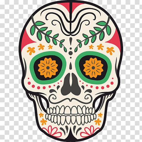 Death symbol clipart png transparent library Paper Mexico Calavera Symbol Death, symbol transparent background ... png transparent library