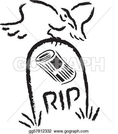 Death vs decline clipart clipart library stock Vector Art - The decline of print media. Clipart Drawing ... clipart library stock