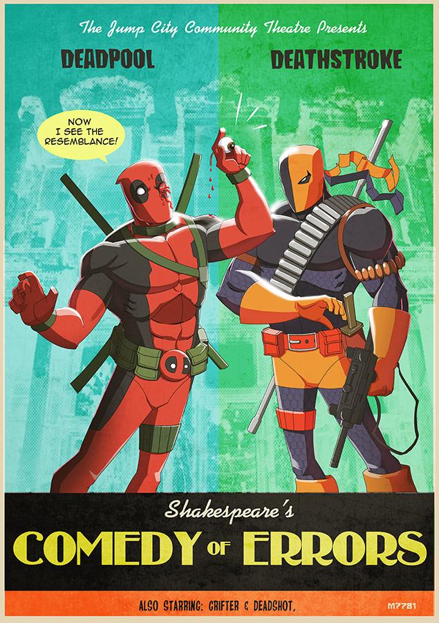 Clipartfox and . Deathstroke vs deadpool clipart