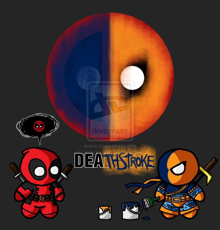 best ideas about. Deathstroke vs deadpool clipart