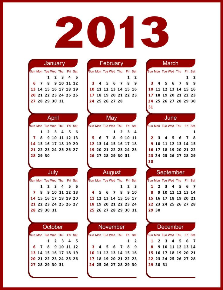 December 2013 calendar clipart image free library 17 Best images about calendars on Pinterest | Calendar, Journaling ... image free library