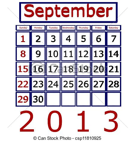 December 2013 calendar clipart picture free stock September 2013 calendar clipart - ClipartFest picture free stock