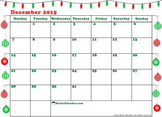 December 2015 calendar clipart freeuse December 2015 Calendar Clipart - Clipart Kid freeuse