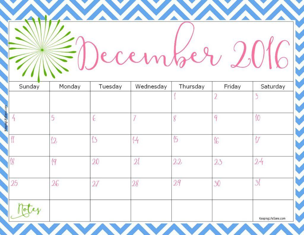 December calendar 2016 banner black and white download December 2016 Printable Calendar Templates   Free Printable Calendar banner black and white download