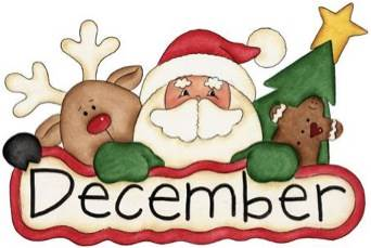 Month of clipart kid. December calendar clip art