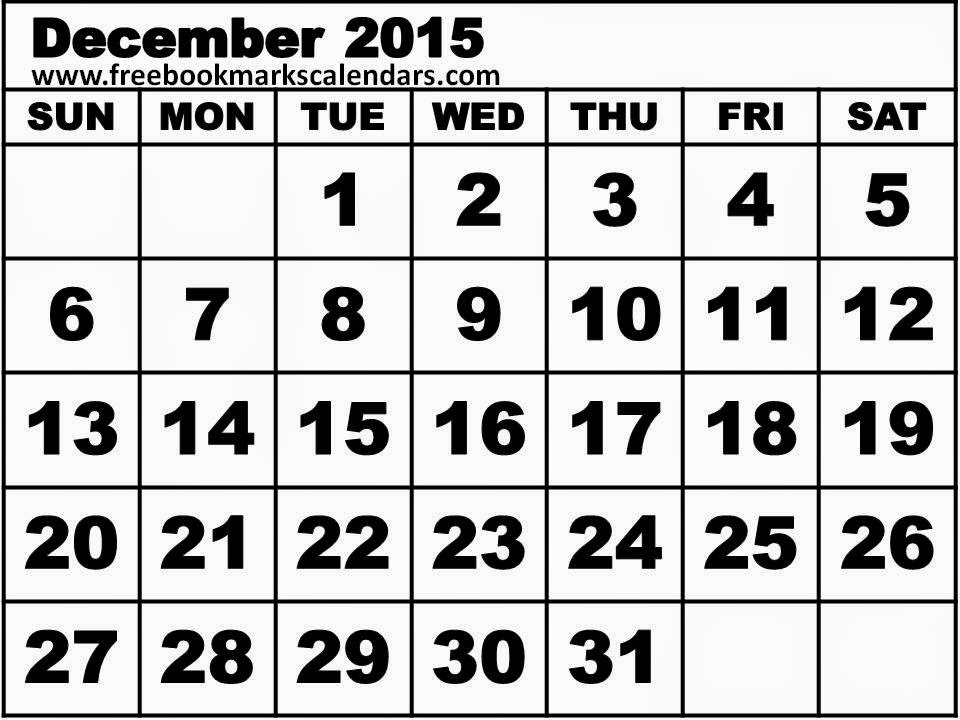 Clipart black and white. December calendar clip art