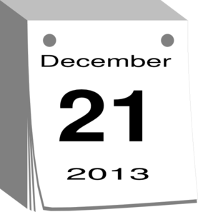 December calendar clipart jpg royalty free stock December Calendar Clip Art at Clker.com - vector clip art online ... jpg royalty free stock