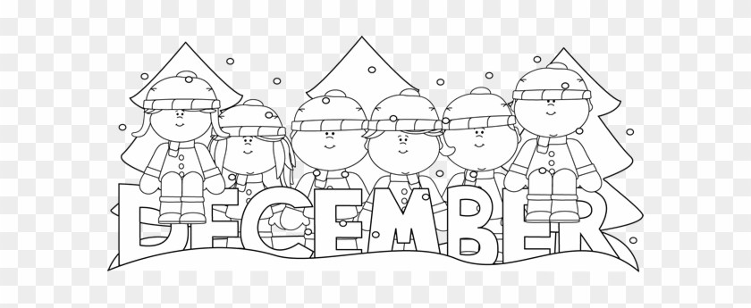 December clipart black and white png download December black and white clipart 3 » Clipart Portal png download