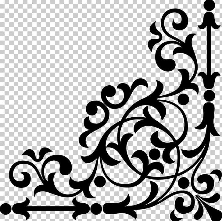 December corner frame clipart black and white vector transparent Frames PNG, Clipart, Art Corner, Artwork, Black, Black And White ... vector transparent