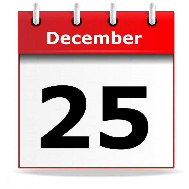 December date calendar clipart royalty free December 25 Clipart - Clipart Kid royalty free
