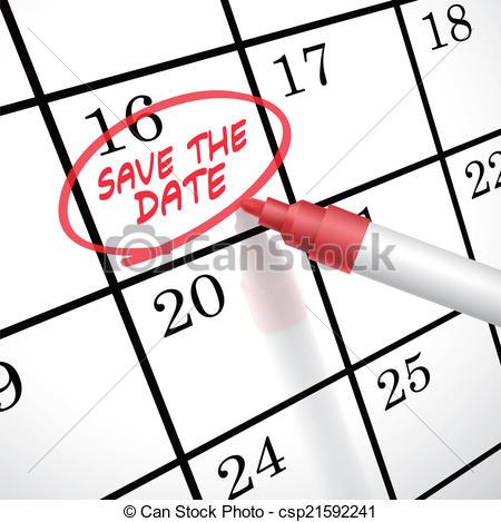 December date calendar clipart clip free Save the date calendar clipart - ClipartFest clip free