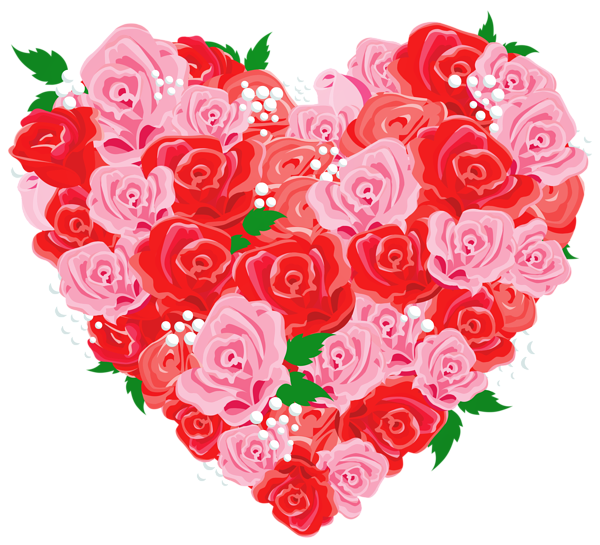 December flower clipart svg library library Deco Rose Heart PNG Clipart Picture | ANYÁK NAPJA | Pinterest | Rose svg library library