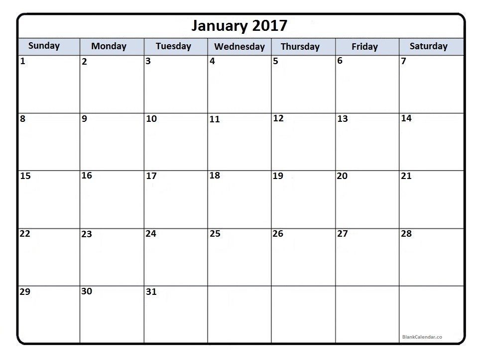 December january calendar 2017 clipart. Clipartfest