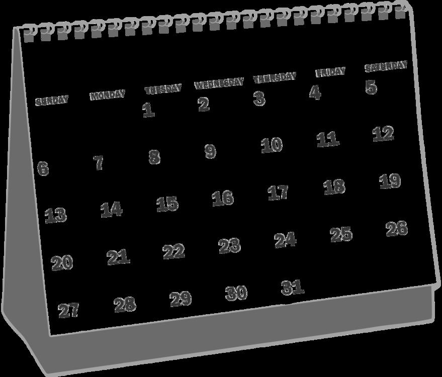 December month calendar clipart black and white banner black and white library Monday Clipart Tuesday Calendar - Calendar Clipart Black And White ... banner black and white library
