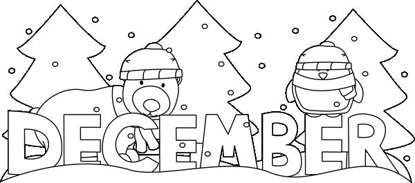 December month clip art jpg freeuse stock December Clip Art - December Images - Month of December Clip Art jpg freeuse stock
