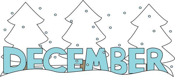 December month clip art clip transparent stock Free Month Clip Art | Month of December Snow Clip Art Image - the ... clip transparent stock