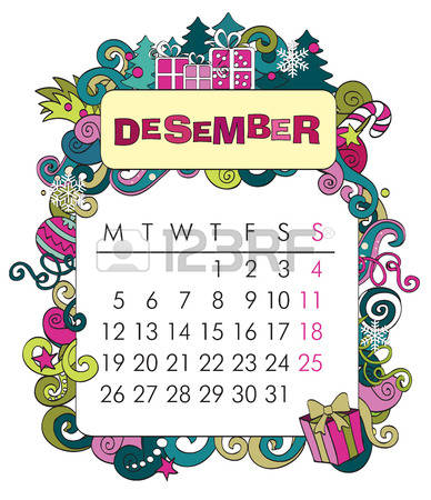 December simple calendar clipart png royalty free download 44,212 Calendar December Cliparts, Stock Vector And Royalty Free ... png royalty free download