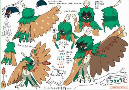 Decidueye clipart image library download Decidueye clipart - Clip Art Library image library download