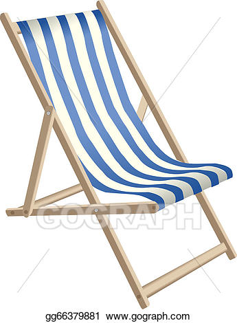 Deckchair clipart png freeuse download Vector Stock - Deckchair. Clipart Illustration gg66379881 - GoGraph png freeuse download
