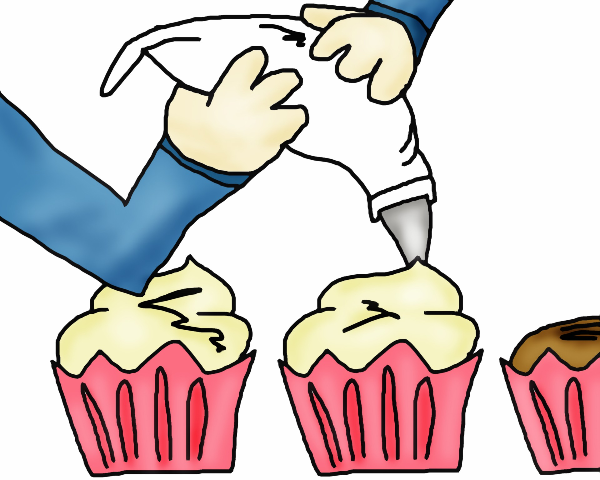 Decorated cake clipart svg freeuse stock Cake decorating clipart 7 » Clipart Station svg freeuse stock