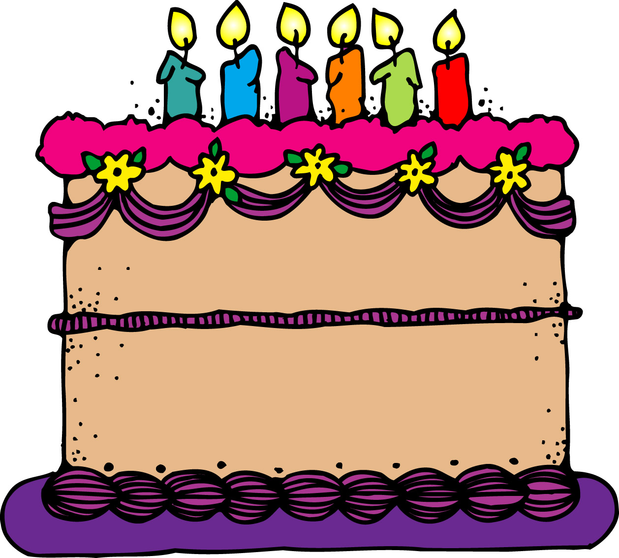 Decorated cake clipart clip art library Birthday Cake Images | Free download best Birthday Cake Images on ... clip art library