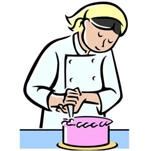 Decorated cake clipart graphic free library Cake Decorating Cliparts - Cliparts Zone graphic free library