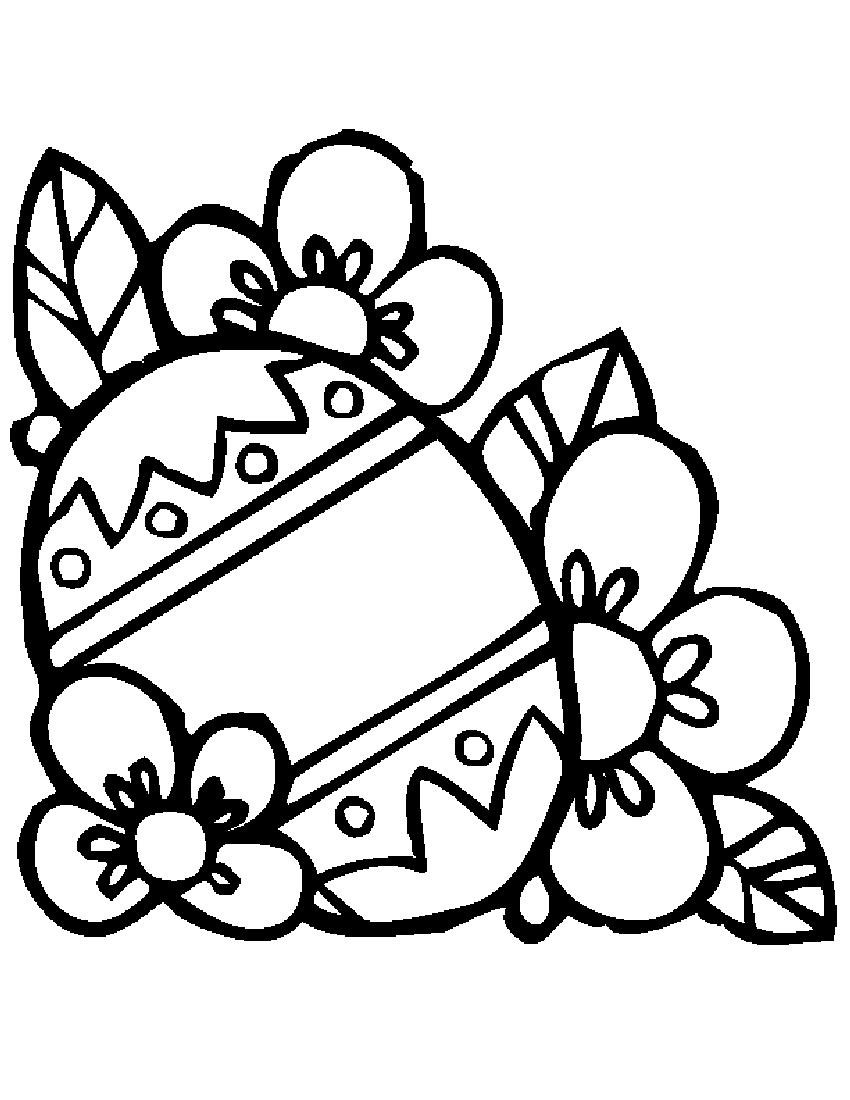 Decorated easter egg black and white clipart png transparent library Easter Clipart Black And White | Free download best Easter Clipart ... png transparent library