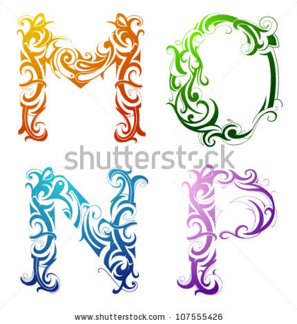 Decorative alphabet letters clip art graphic library download Decorative Alphabet Stock Photos, Royalty-Free Images & Vectors ... graphic library download