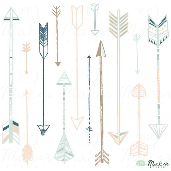 Decorative arrow clip art free Arrow Clip Art - PNG Files - Photoshop Brushes - Digital Graphic ... free